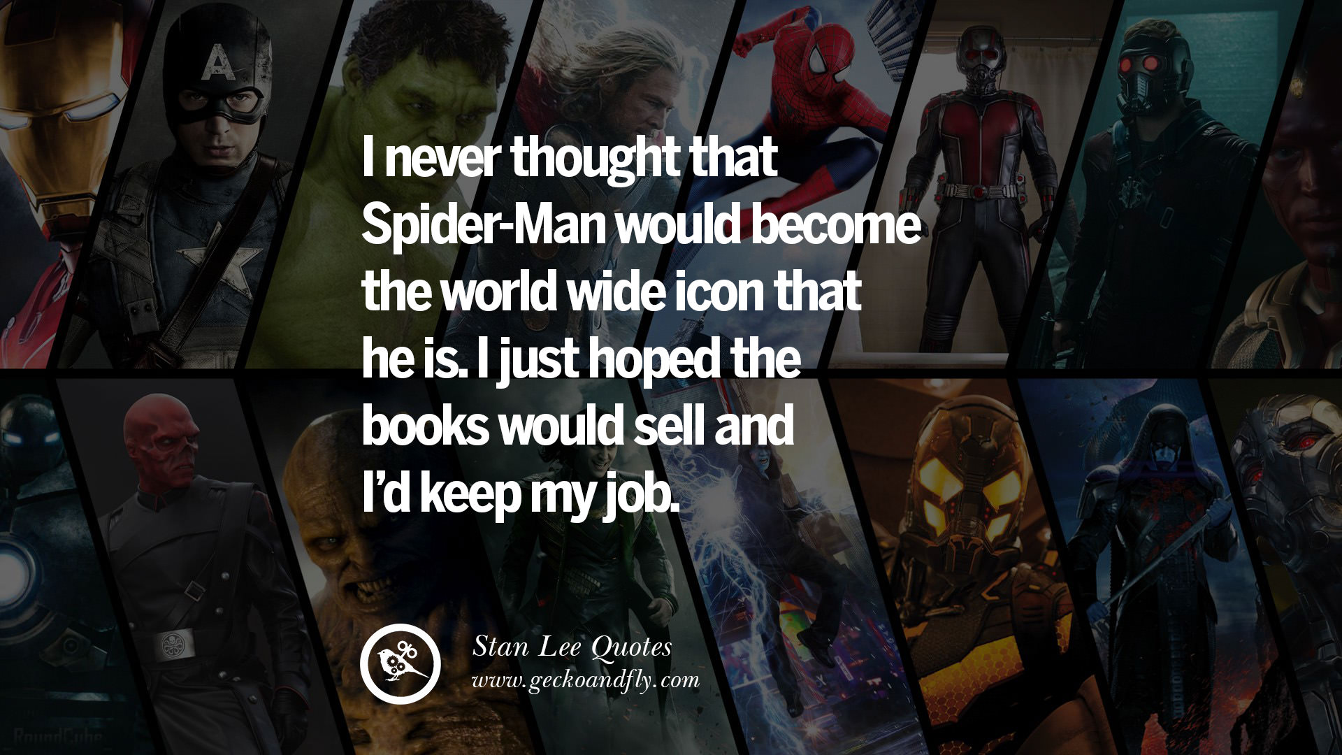 14 best stan lee quotes on life, death, responsibility and success