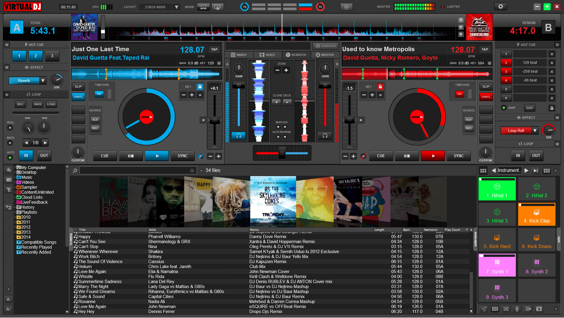 4 free virtual dj software with realtime audio synthesizer for Virtual home software