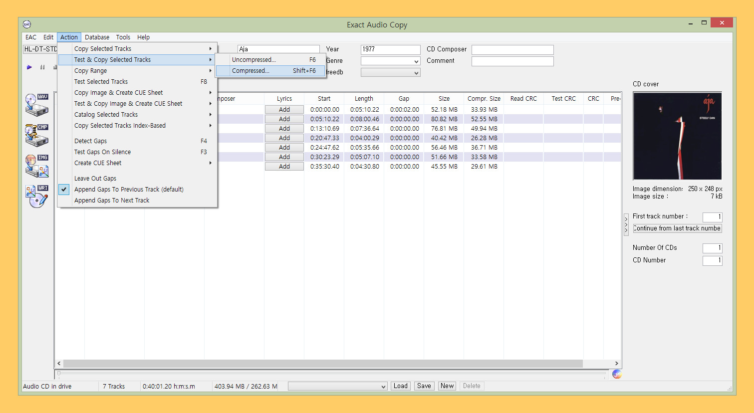 10 Freeware To Rip CDs To FLAC Lossless And MP3 Lossy HD Audio Format