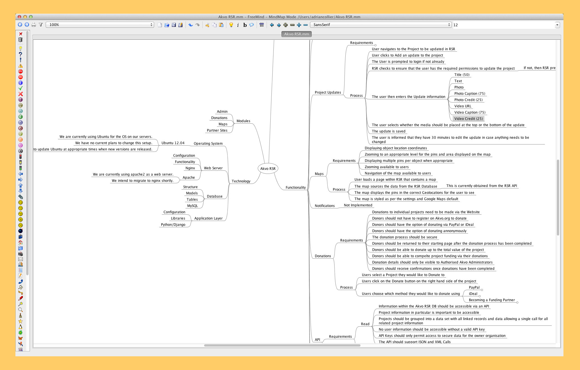 free mind mapping software windows Linux