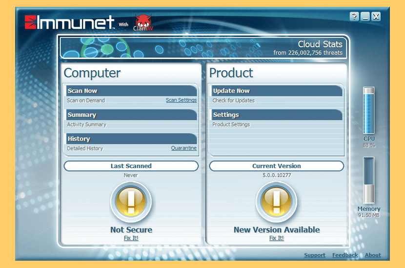 Cisco Immunet Antivirus