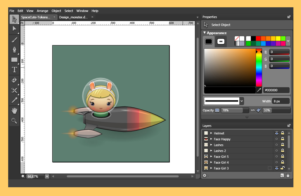 vector image editors
