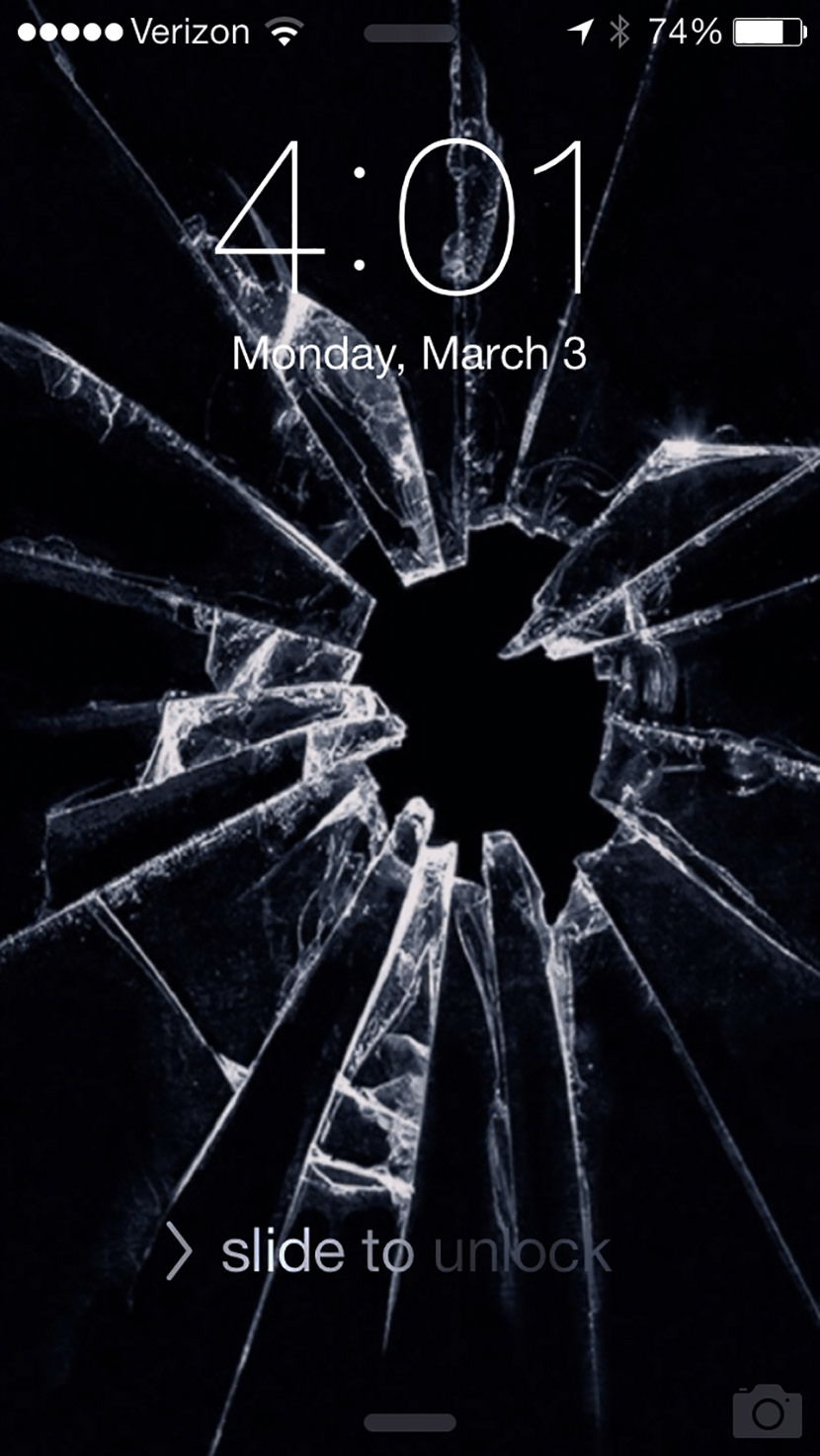 7 broken screen wallpapers for apple iphone 5 6 and 7 best prank