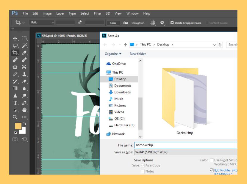 Adobe Photoshop WebP Plugin