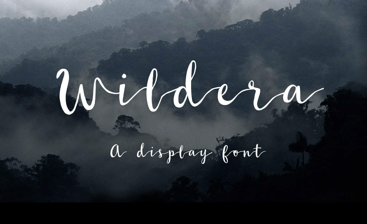 Wildera Font By Lauren Lee