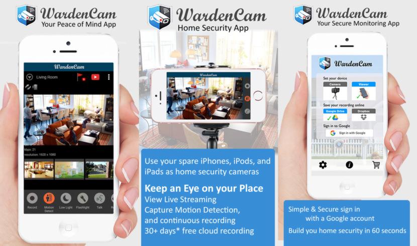 warden camera smartphone security
