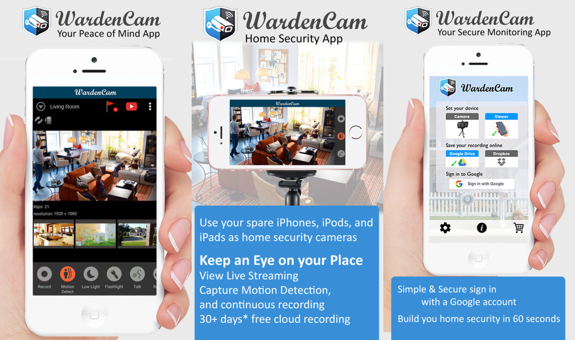 5 Smartphone Security IP Camera Apps - Simple Babycam And Pet Cam