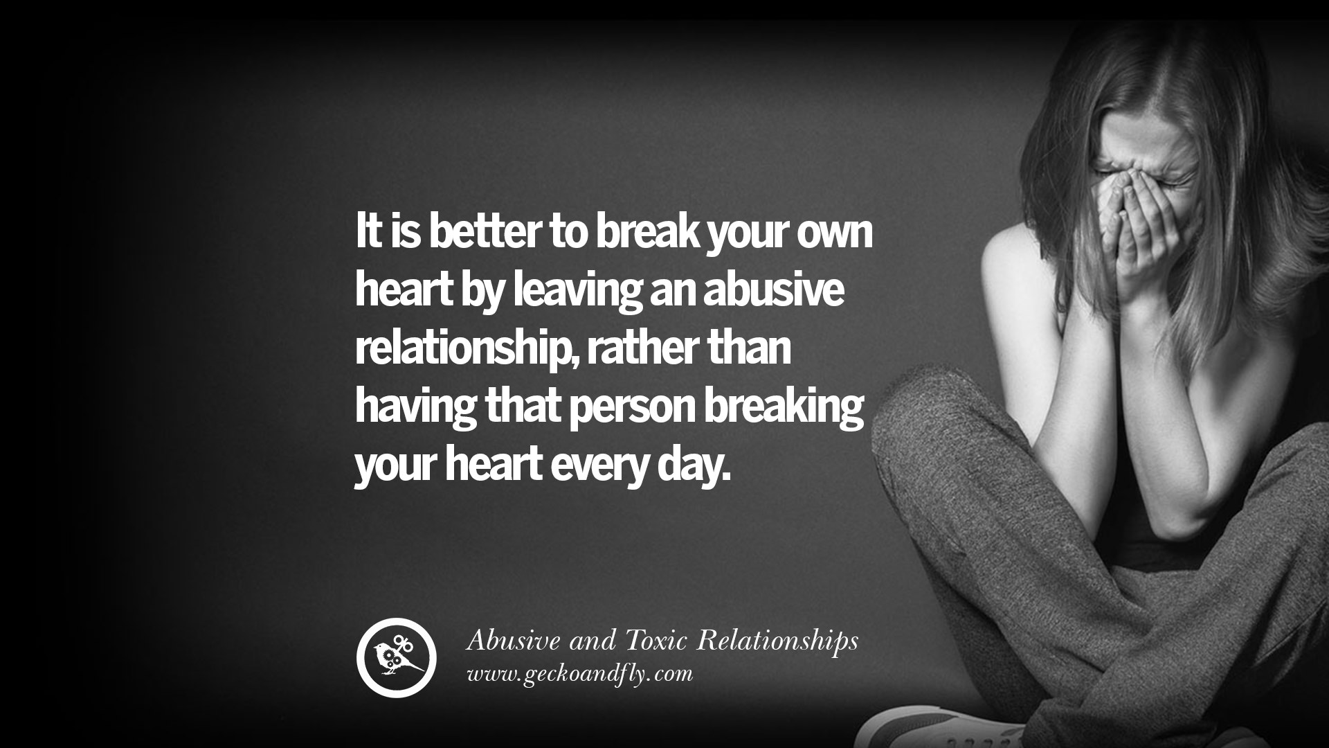Abusive Relationship Quotes Simple 30 Quotes On Leaving An Abusive Toxic Relationships And Be