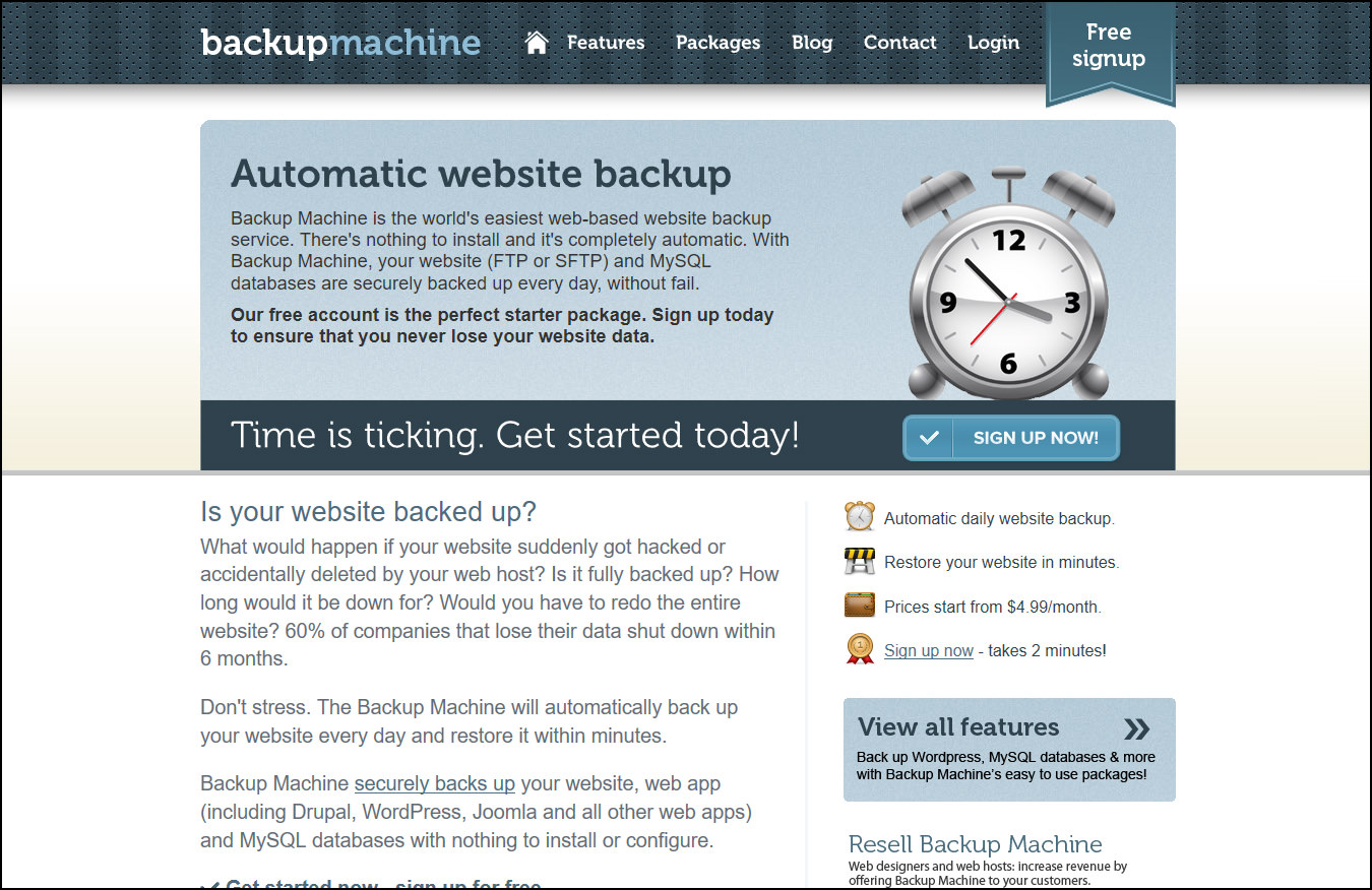 8 Best WordPress Automatic Sync, Database Backup & Restore Service