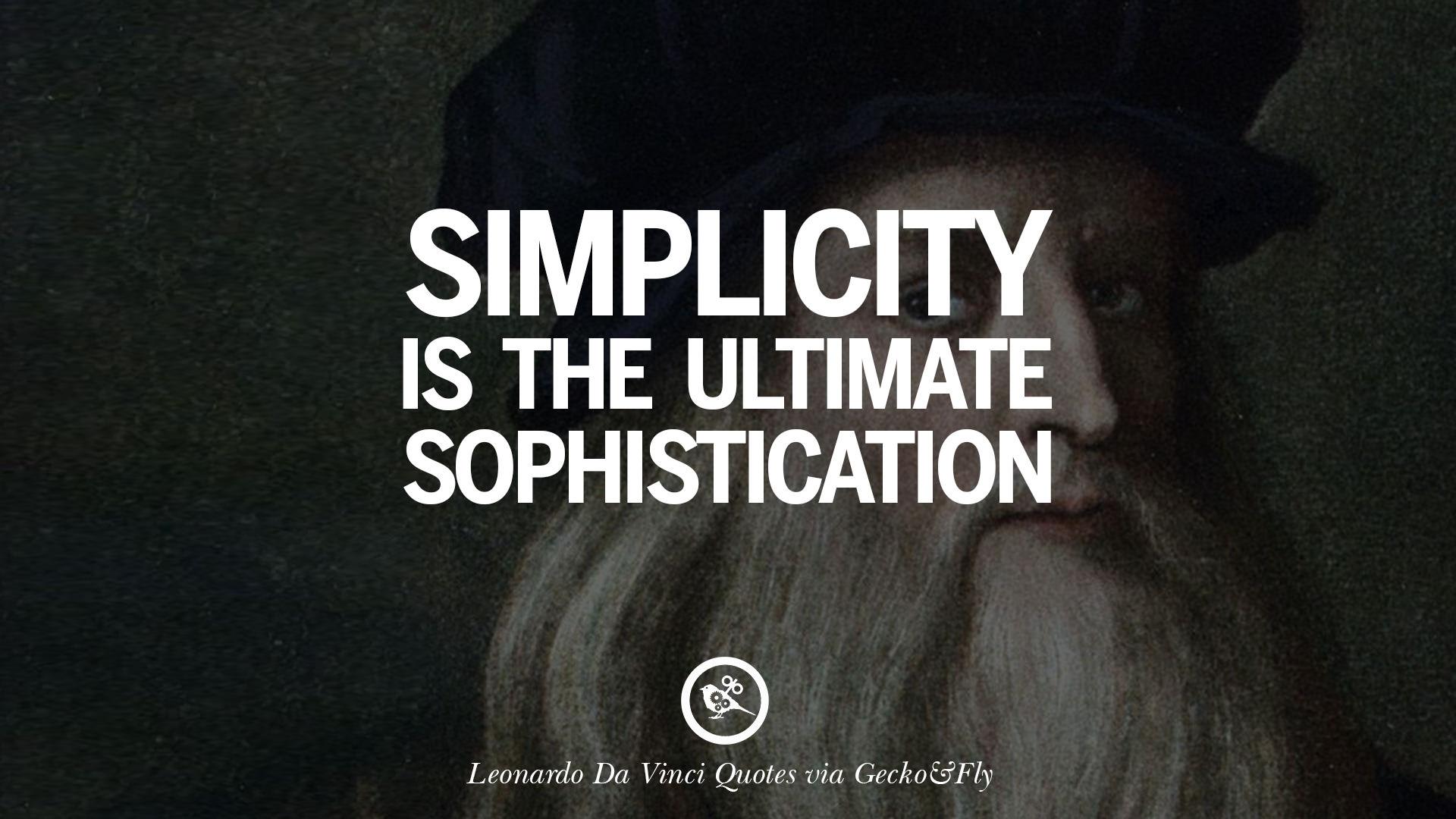 Ultimate Love Quotes 16 Greatest Leonardo Da Vinci Quotes On Love Simplicity
