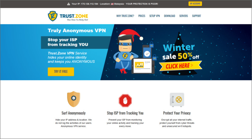 Free online anonymous proxy server