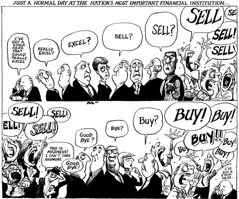 Great Quotes On The Global Economic, Current Recession and Depression Comic Cartoon