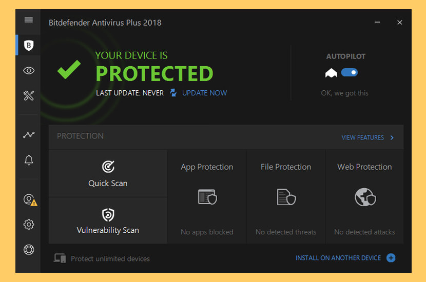 Image result for Bitdefender Antivirus Free Edition: