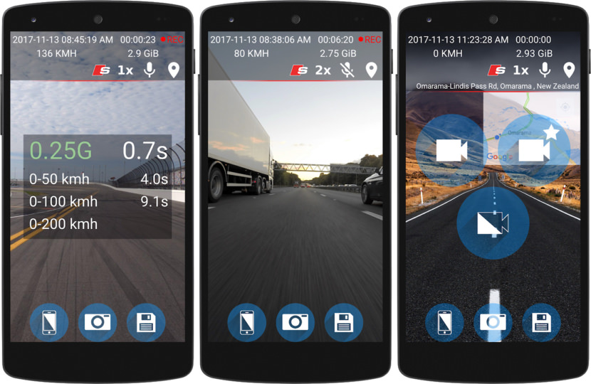 android free dash cam