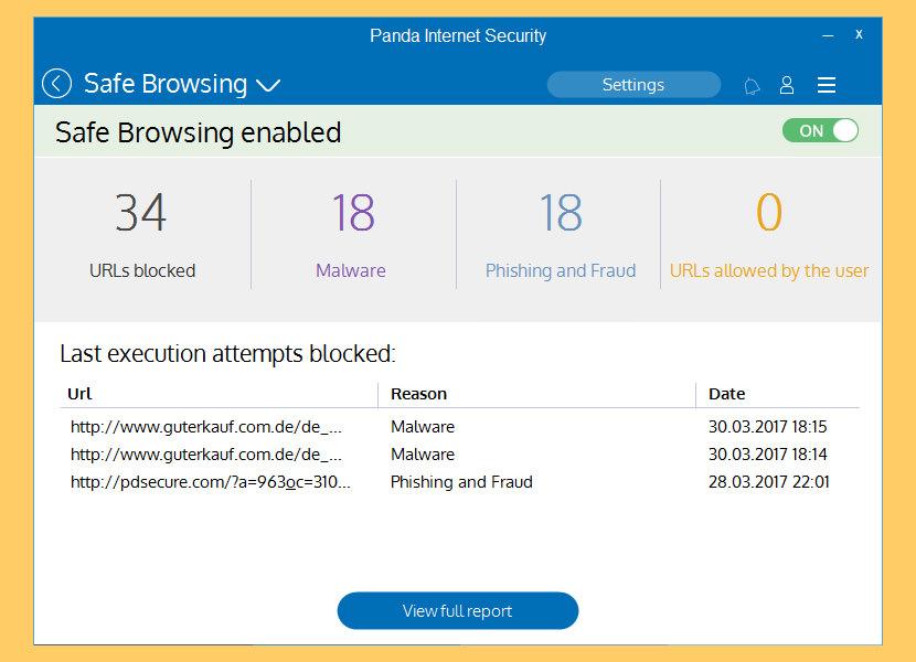 Panda Internet Security 2019