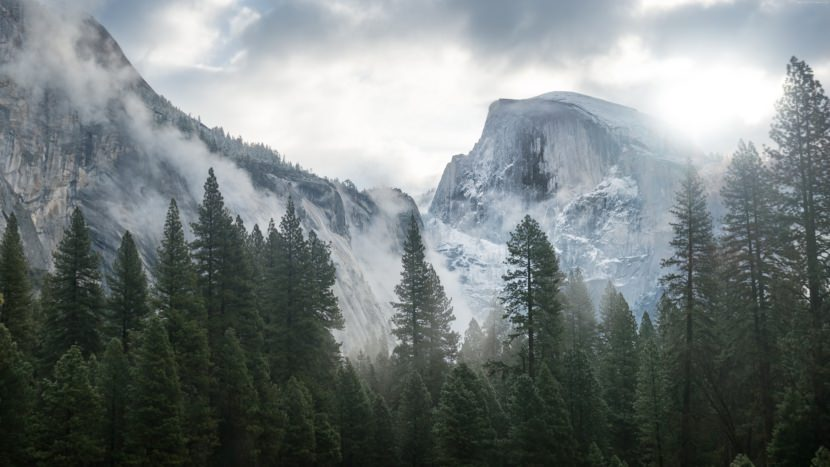 apple macOS yosemite wallpaper