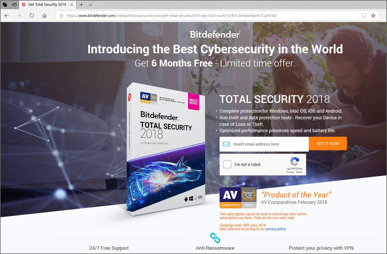 bitdefender antivirus plus trial reset