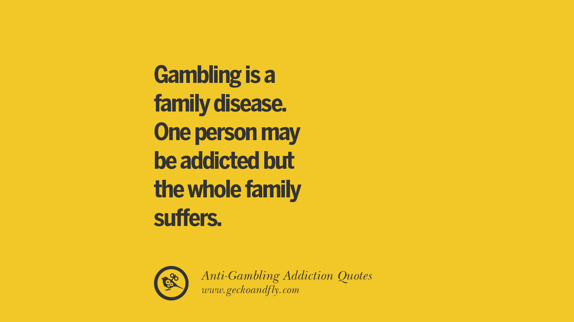 22 Anti Gambling And Addiction Quotes Be A Proud Quitter