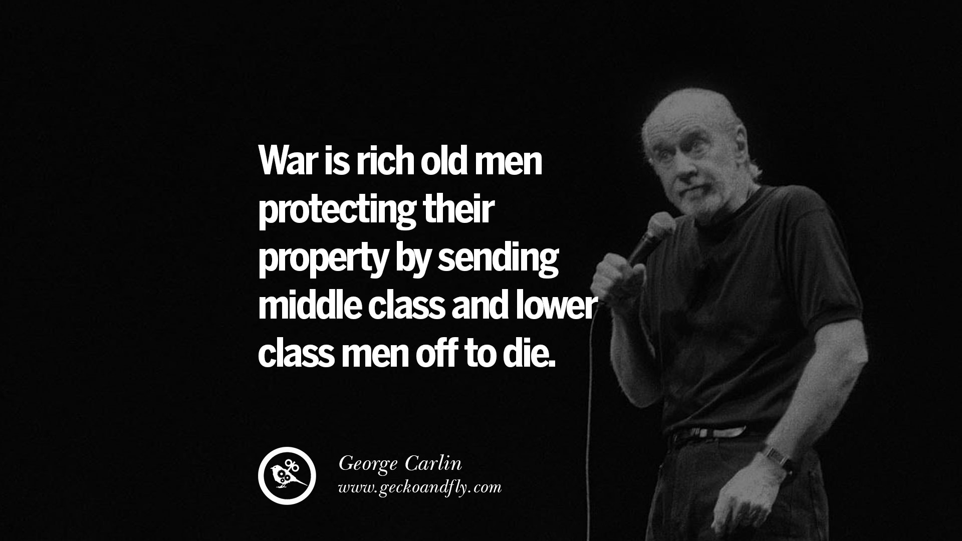 32 Funny And Sarcastic Quotes By George Carlin