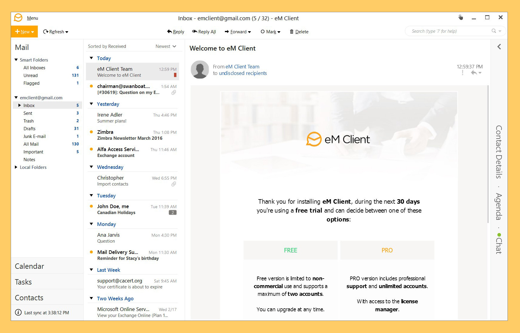 6 Best Email Clients For Windows Free Outlook Mail Alternatives