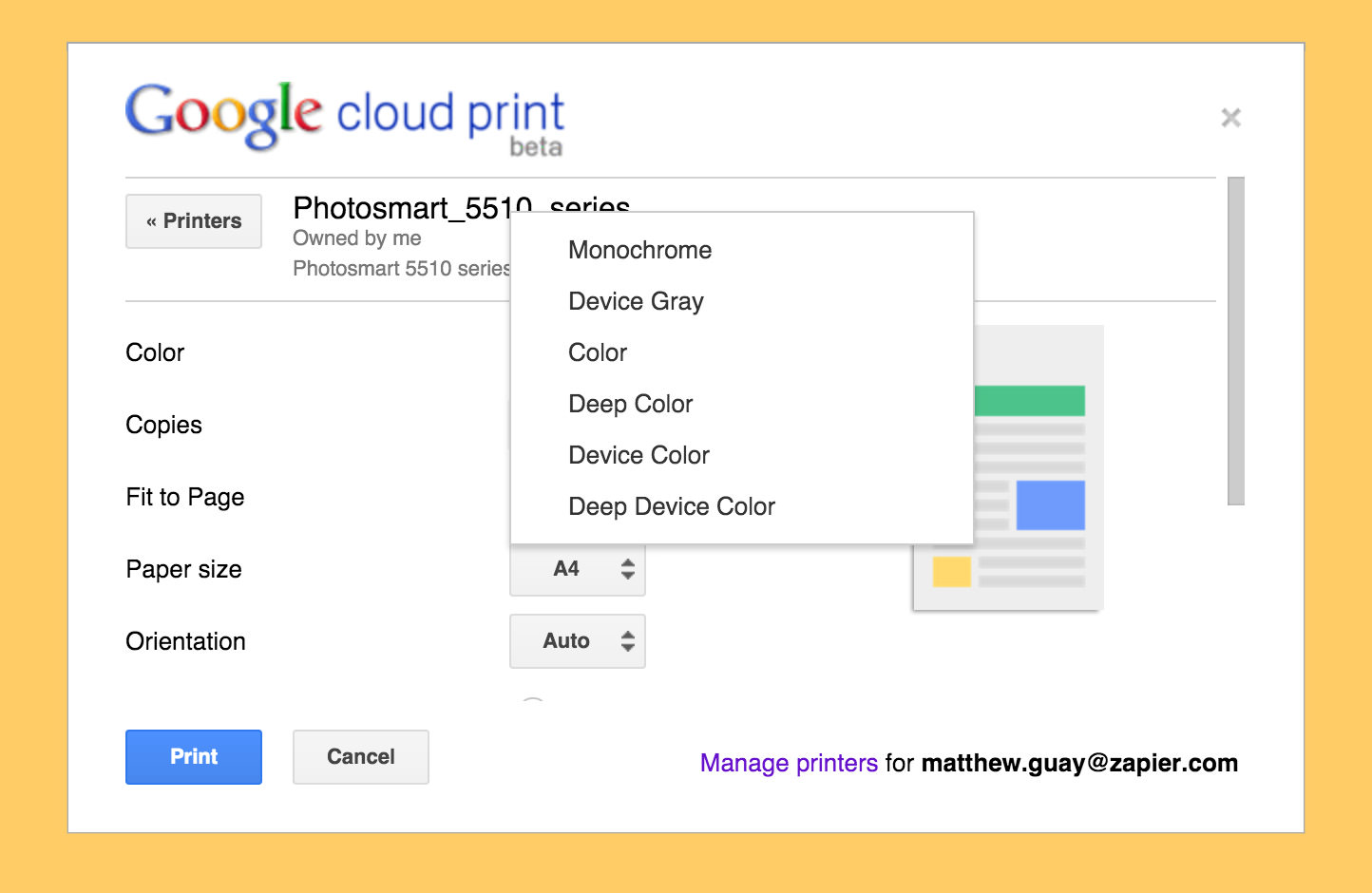 5 Remote Cloud Printing Services - Print From Smartphone And Browser