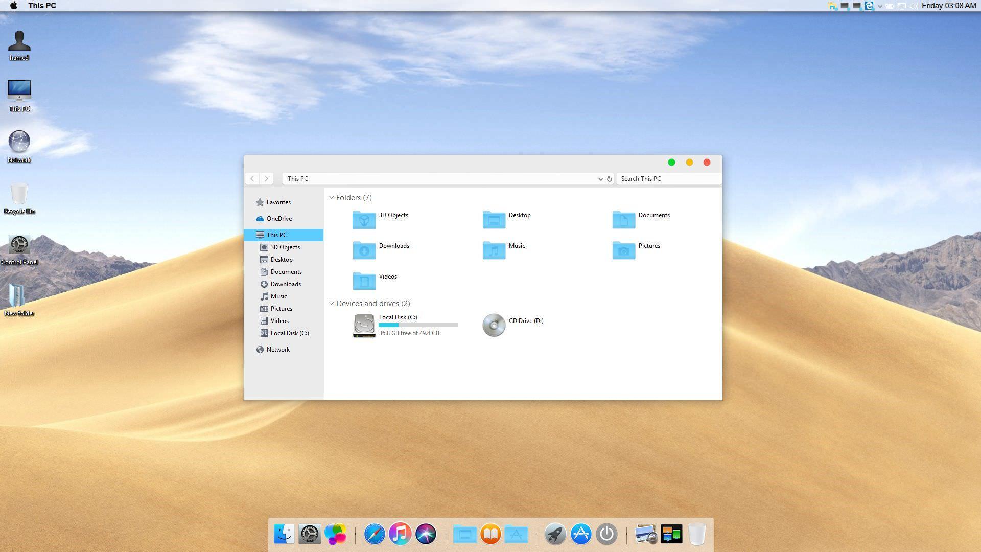 10 Free Windows Skins Themes Minimalist And Apple Macos Style