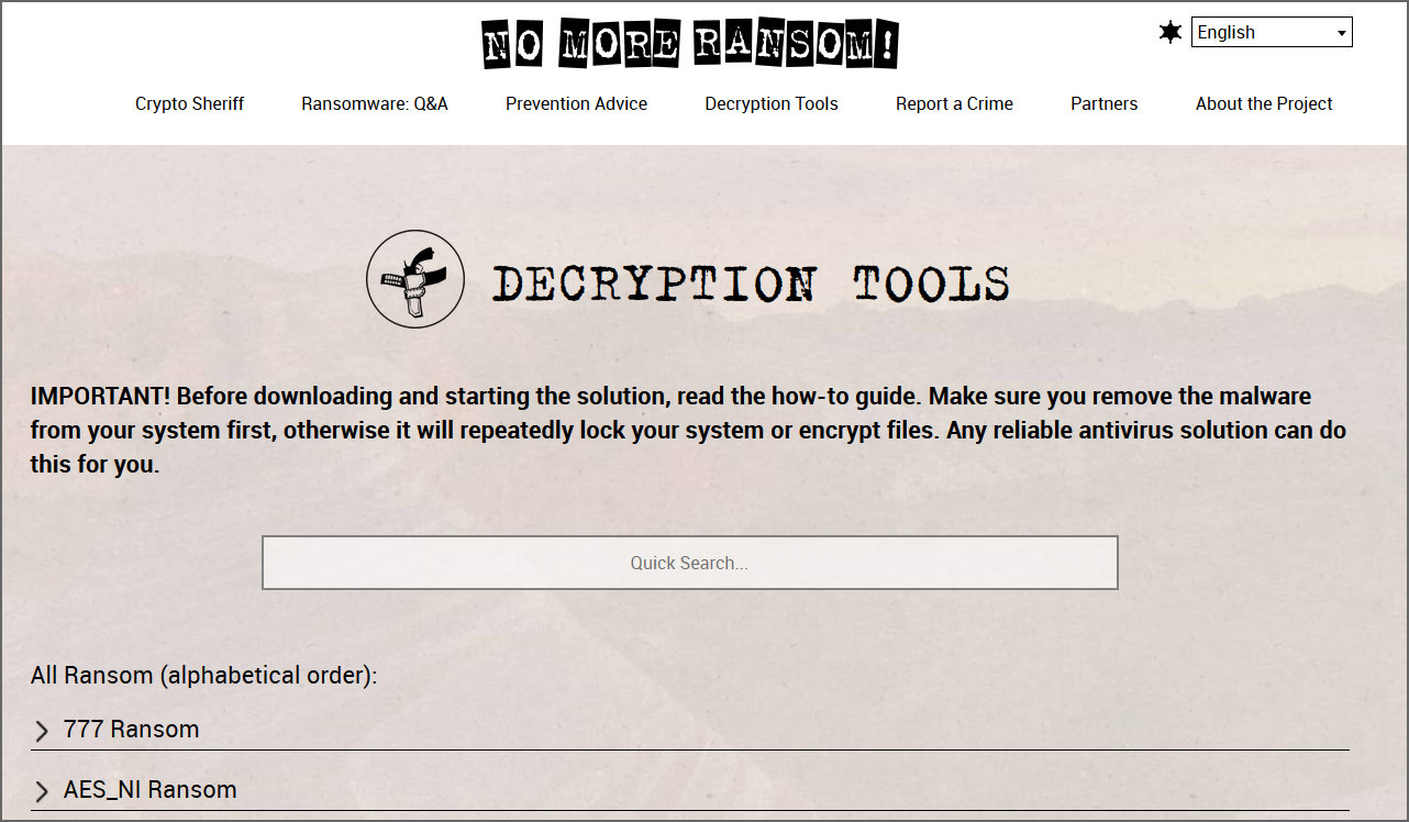 100+ Free Ransomware Decryption Tools To Remove And Unlock