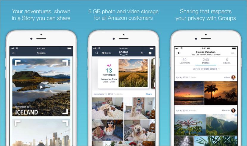 Amazon Photos iOS backup
