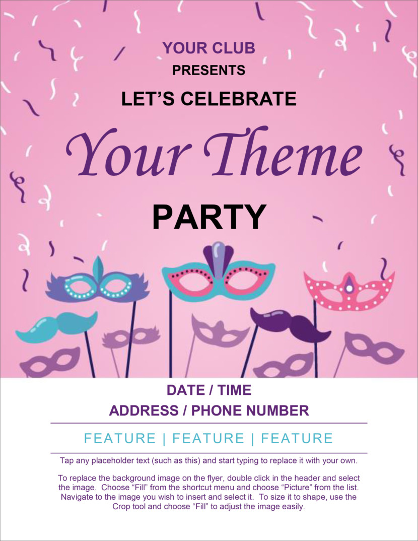 Free Poster And Flyer Templates