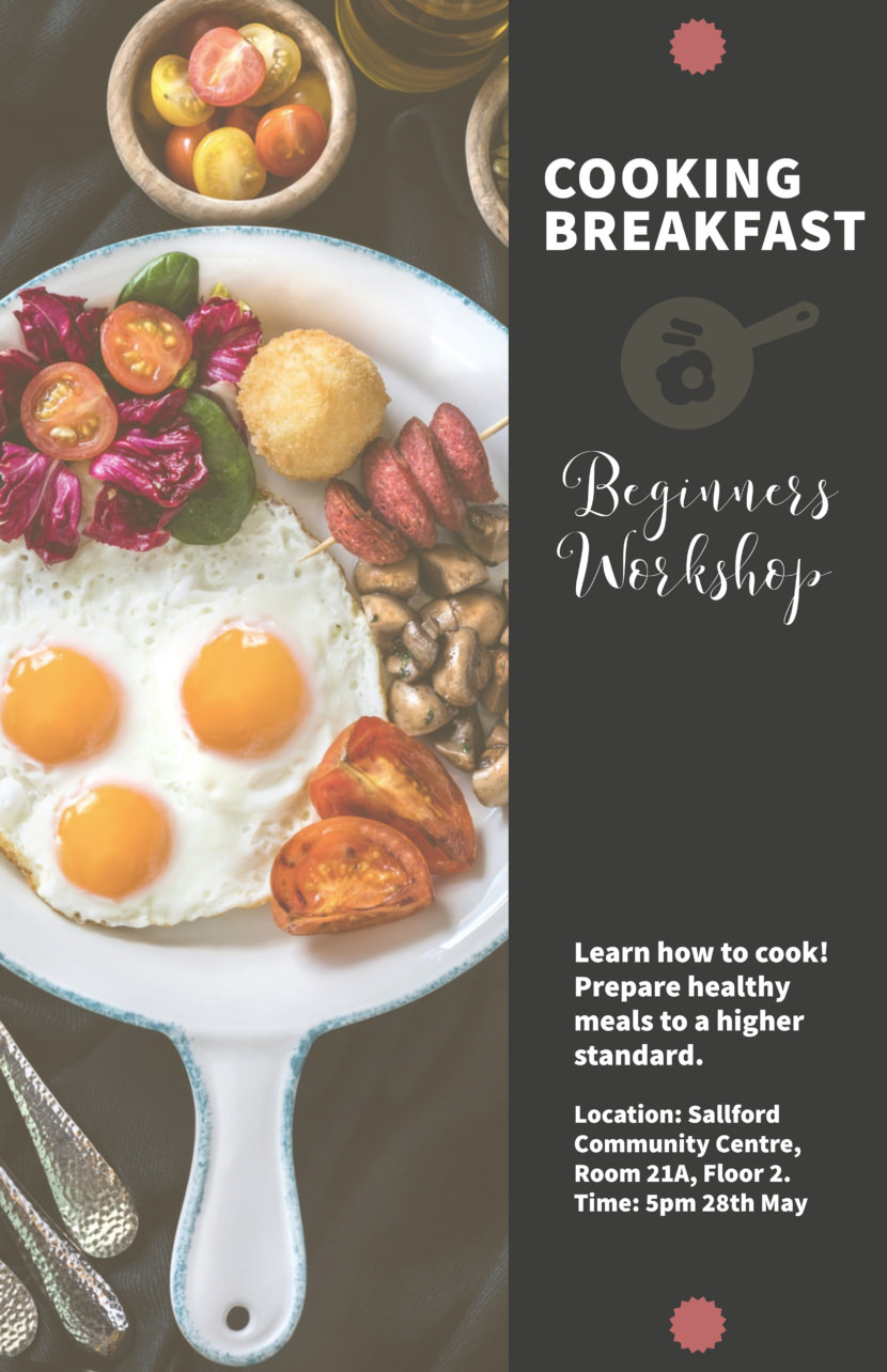 breakfast food restaurant Free Poster And Flyer Templates