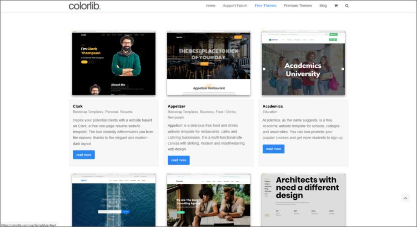 Colorlib Free Professional HTML5 Responsive Templates