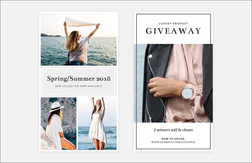 Fashion Sales Instagram Stories Template