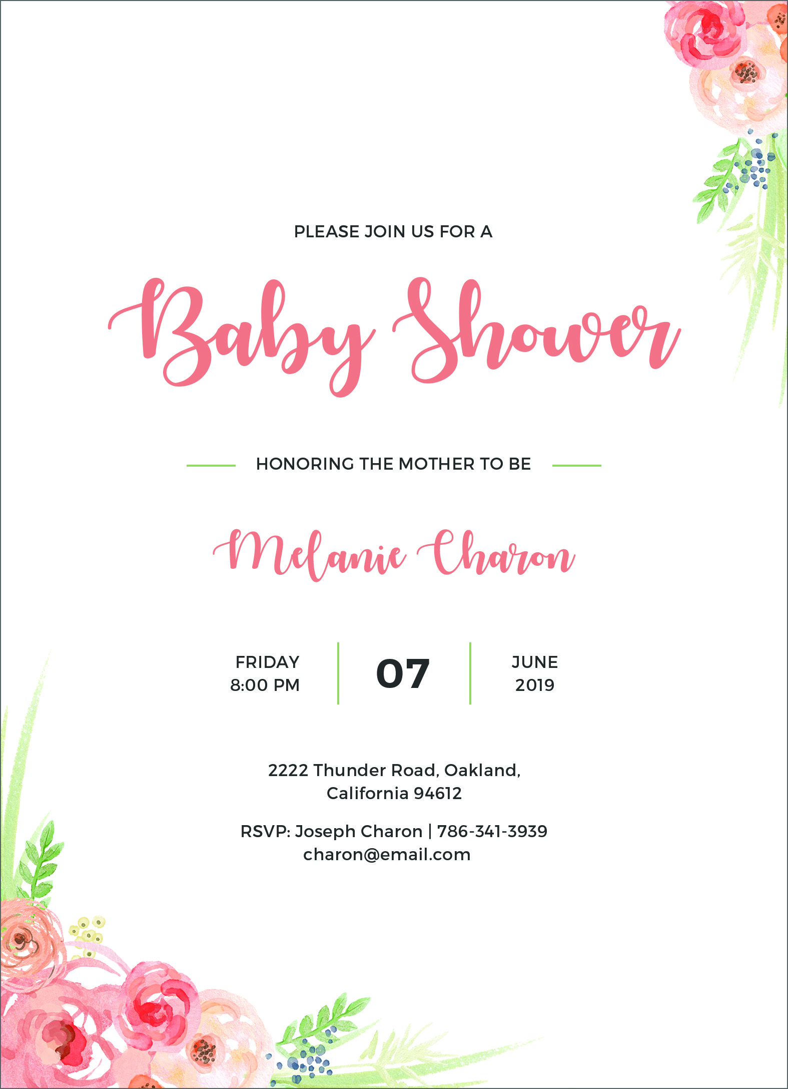 21 Free Editable Baby Shower Invitation Card Templates Regarding Free Baby Shower Invitation Templates Microsoft Word