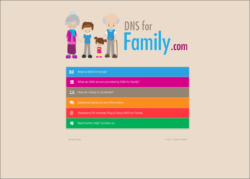 DNS for Family