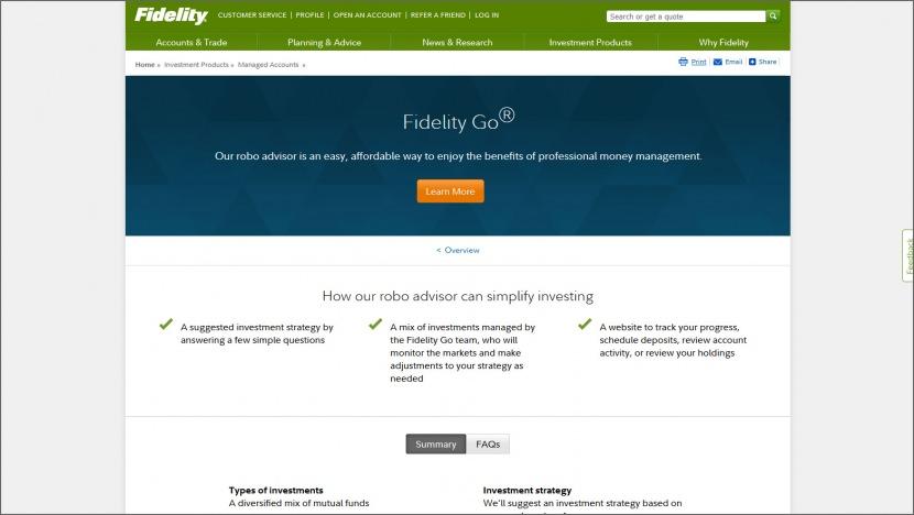 Fidelity Go